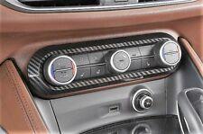 Alfa Romeo Gulia & Stelvio Carbon Cover für die Klimasteuerung