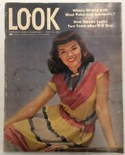 Look Magazine (May 13, 1947) West Point Mickey Rooney BooksbyDecade.com