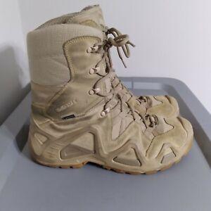 Lowa Goretex Hi Mens Size 9.5 Shoes Beige Waterproof GTX Performance High Boots