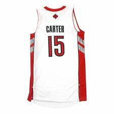 VINCE CARTER NBA ADIDAS TORONTO RAPTORS REV 30 AUTHENTIC On Court Jersey MEDIUM