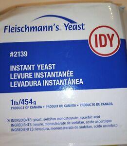 Fleischmann's ~ 1 lb ~ INSTANT DRY YEAST Vacuum Sealed Rapid Rise. 4 Baking