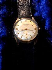 Armbanduhr alt    Dugena  Festa  dezentr. Sek.    vergoldet   sehr gut