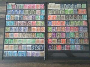 152 Briefmarken Großbritannien Freimarken Königin Elizabeth II (England)