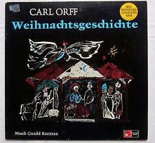 "12"" LP WEIHNACHTSGESCHICHTE - Carl Orff - Musik Gunild Keetman"