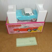 Vintage tin toy FIFTIES 50's made in Japan - Blue THUNDERBIRD hard top MINT 80s