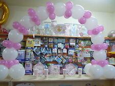 ARCO BOUFFET Link palloncini colori vari Addobbi Nascita Feste compleanno Eventi