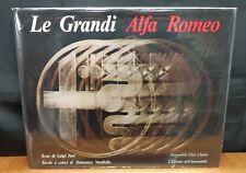 LE GRANDI ALFA ROMEO By Luigi Fusi - Domenico Nardiello
