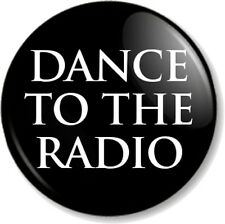 "DANCE TO THE RADIO Joy Division 1"" Pin Button Badge Transmission Song Band Black"