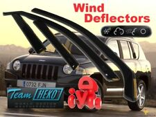 JEEP COMPASS  MK49  2007 - 2017  5.doors  Wind deflectors  4.pc  HEKO 19117 NEW