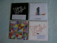 YOUNG BUFFALO job lot of 4 promo CDs Catapilah Sykia No Idea House Album Sampler