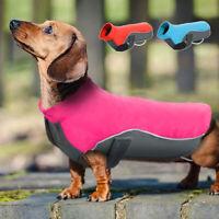 Wasserfest Hundemantel Hundejacke Hundekleidung Hundeweste Regenmantel S-5XL Rot
