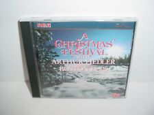 A Christmas Festival with Arthur Fiedler and the Boston Pops CD