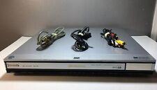 PANASONIC DVD-F85 DVD/CD PLAYER PROGRESSIVE SCAN ULTRA SLIM 5 DISC CAROUSEL.