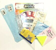 Dritz Gauge Thangles Templates Stencil Quilting Sewing Quilt Making Supply Lot