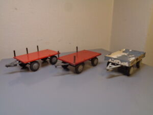 TEKNO DENMARK VINTAGE 1950'S DODGE TRAILER COLLECTION VERY RARE ITEMS