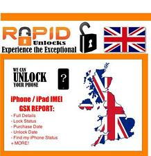 FOR iPHONE iPAD NETWORK WORLDWIDE CHECKS FAST 24 HOUR SERVICE