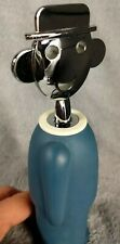 Alessi Corkscrew Wine Opener by Alessandro Mendini Blue 2003 Excellent Pre-owned