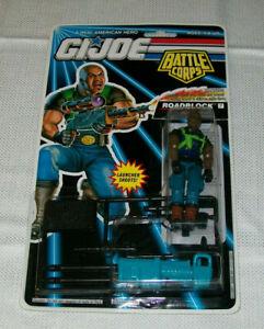 GI Joe BATTLE CORPS: ROADBLOCK #07 HEAVY MACHINE GUNNER HASBRO 1992 MOC