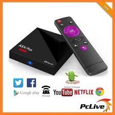 A5X Plus Quad Core Android TV Box 8GB HD KODI Google Youtube Player 4K WIFI HDMI