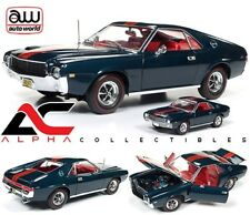 "AUTOWORLD AMM1124 1:18 & 1:64 1968 AMC AMX ""CLASS OF 68"" 50TH ANNIVERSARY LTD ED"