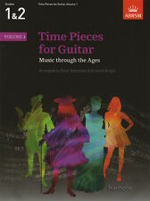 PEZZI di tempo per chitarra Volume 1 ABRSM classica Chitarra Spartiti Musicali LIBRO