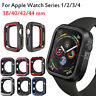 TPU Silicone Bumper Case For Apple Watch Series 4 321 iWatch Cover 38/42/40/44mm