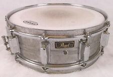 """Pearl Snaredrum Snare Stahl """"gerockt"""" vintage Marschtrommel Schlagzeug Drum"""