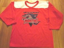 VINTAGE CCM MINOR LEAGUE HOCKEY LOWELL LOCKMOSTERS JERSEY SIZE S