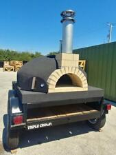 Mobile Wood Fired Pizza Oven Pizza Trailer