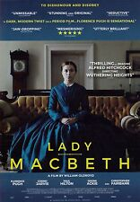 Lady Macbeth A5 Poster (2017) - Florence Pugh, Cosmo Jarvis, Paul Hilton