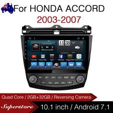 "10.1"" Android 7.1 Car Stereo GPS Head Unit Quad Core For Honda Accord euro 03-07"