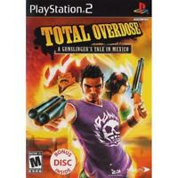PS2 Total Overdose A Gunslingers Tale In Mexico Playstation NTSC T414