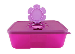 Tupperware Purple Tissue Clean Up Container Box 1.5L Limited Release