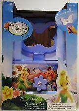 Disney Fairies Tinkerbell Childrens Kids Girls Jewelry Box Removable Mirror