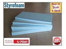 XPS Styrofoam Foam Board HOBBY FOAM 60cm x 20cm x 2.5cm sheets MODELLING Dowfoam