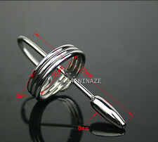 MALE HOT NEW STAINLESS STEEL SOUNDING URETHRAL DILATOR INSTRUMENTS SOUNDS