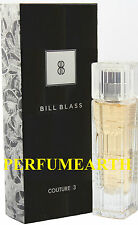 BILL BLASS COUTURE 3 0.85 OZ EDP SPRAY FOR WOMEN NEW IN A BOX BY BILL BLASS