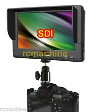 """Lilliput 7"""" 667GL-70NP/H/Y/S REAL HD-SDI Monitor+shoe stand+F970 battery Adapter"""