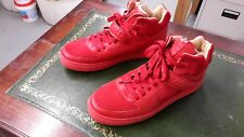 K1X93 Red High top Basketball shoe size 12