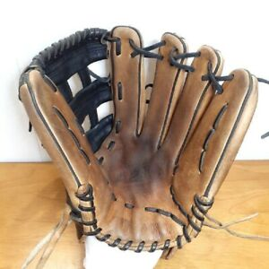 Wilson Baseball Glove Adult size A2K For outfield brown used from Japan