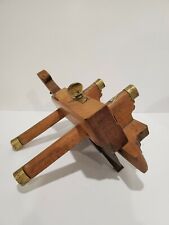 New ListingAntique Ames Plow Plane with Brass Detailing - Signed W. Greive