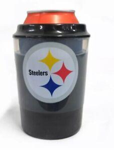 NFL Pittsburg Steelers freezer can cooler freezable liquid 12 oz can/bottle