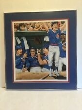 1984 CHICAGO CUBS AUTOGRAPHED LIMITED EDITION LITHOGRAPH THOMAS SULEK