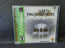 FACTORY SEALED Final Fantasy Tactics PS1 PlayStation USA PsOne SLUS 94221