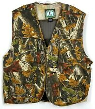 3b1ca3caba934 Master Sportsman Fishing Hunting Shooting Camo XL Vest Rugged Outdoor Gear  #C