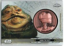 2019 Star Wars Chrome Legacy Droid Medallions DC-EJ Jabba the Hutt 61/99