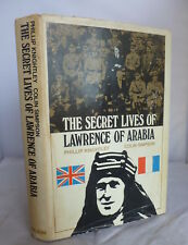 The Secret Lives of Lawrence of Arabia by Knightly & Simpson HB DJ 1969 Illustr