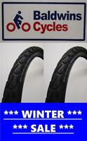 CHEAP PAIR 700 x 40c SCHWALBE LAND CRUISER Puncture Protection Bike Tyre 42-622