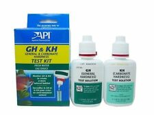API GH & KH WATER TEST KIT FISH TANK TROPICAL POND GENERAL CARBONATE HARDNESS