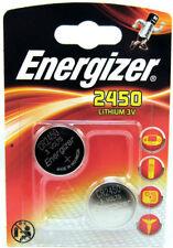 2 x Energizer CR2450 Batteria A Bottone Al Litio 3 V 2450 DL2450